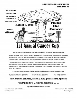 1st Annual Cancer Cup: Nuke the Cancer graphic