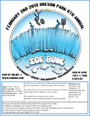 Oregon Parks 6th Annual Ice Bowl graphic