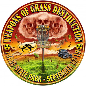 6th Annual Weapons of Grass Destruction Sponsored By Dynamic Discs graphic