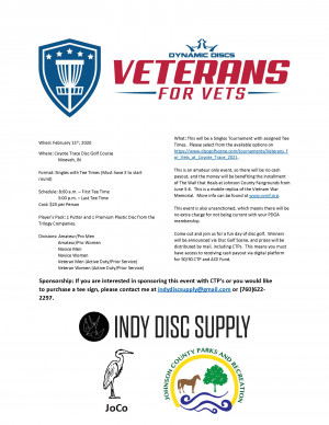 Veterans for Vets at Coyote Trace graphic