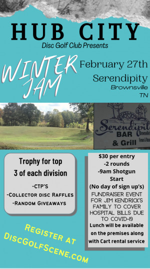 Hub City Winter Jam graphic