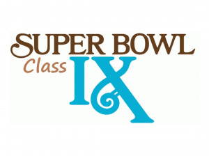 SuperCLASSbowl IX graphic