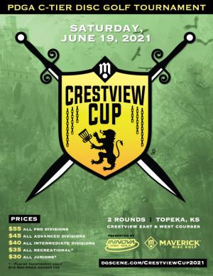Maverick DG: Crestview Cup pres by Innova graphic