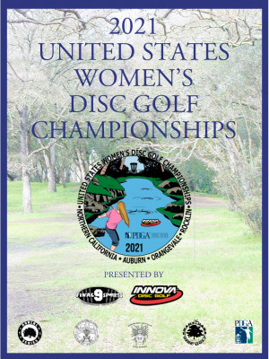 2021 United States Women's Disc Golf Championships Presented by Innova Champion Discs graphic