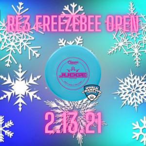 Re3 Freezebee Open graphic