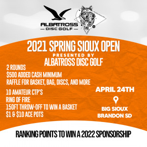 2021 Spring Sioux Shootout graphic