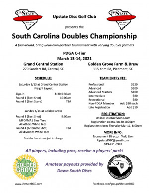 SC Doubles Championship graphic