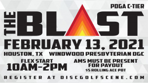The Blast presented by Dynamic Discs graphic