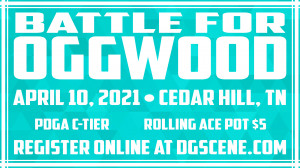 The Battle for Oggwood presented by Dynamic Discs graphic