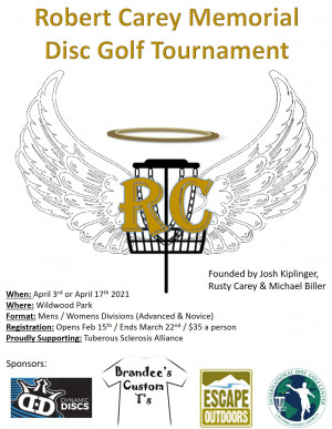 Robert Carey Memorial Tournament graphic