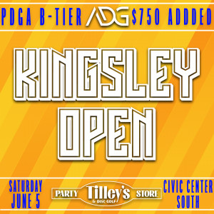 Kingsley Open presented by Tilley's graphic