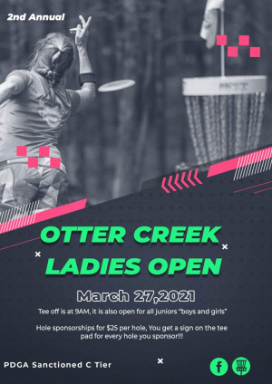 2nd Annual Otter Creek Ladies Open graphic