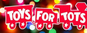 8th Annual Toys for Tots graphic
