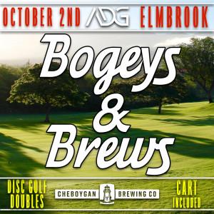 Bogeys & Brews presented by Cheboygan Brewing Co. graphic