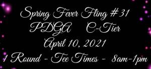 Spring Fever Fling #31 graphic