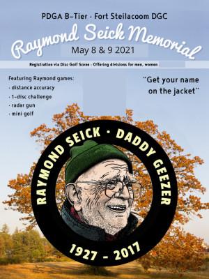 Raymond Seick Memorial graphic