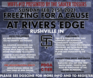 WIFFS #12 - Freezing for a cause @ River's Edge graphic