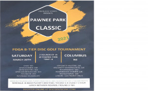 Pawnee Park Classic Presented By Union Disc Sports graphic