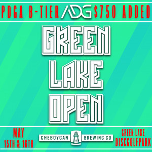 Green Lake Open presented by Cheboygan Brewing Co. graphic