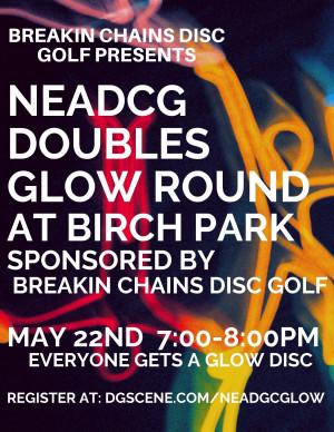 NEADGC Birch Park Doubles Glow Round graphic
