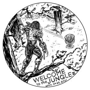 Discmania Presents Welcome to the Jungle VI - Am graphic