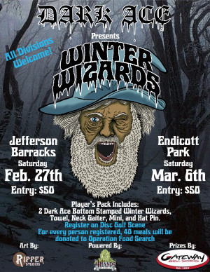 Dark Ace Presents Winter Wizards at Jefferson Barracks powered by 4Hands Brewery graphic