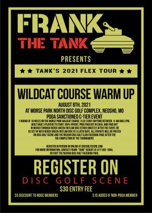2nd Annual Wildcat Course Warm-Up Flex Start graphic