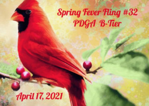 Spring Fever Fling #32 Presented by Latitude 64 and Sponsored by Disc Store graphic