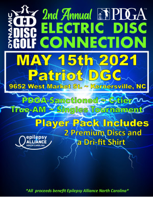 2nd Annual Electric Disc Connection graphic