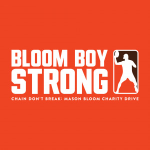 Chain Don't Break: Mason Bloom Charity Drive graphic