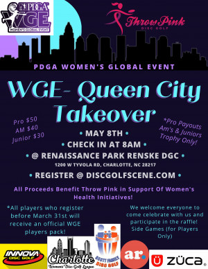 WGE - Queen City Takeover graphic