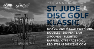 7th Annual St. Jude Disc Golf Klassic graphic