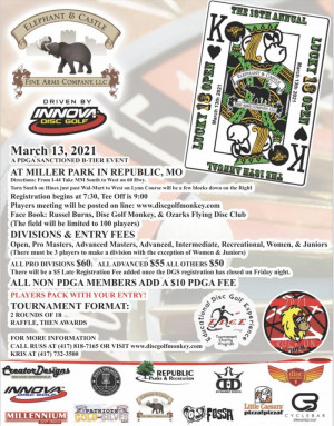 Elephant & Castle presents: The 13th Annual Lucky 13 Driven by Innova graphic