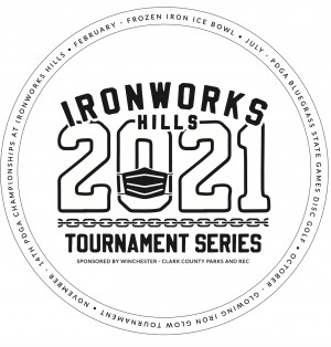 PDGA Winter WrapUp at Ironworks Hills graphic