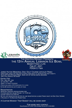 The 13th Annual Lebanon Ice Bowl graphic