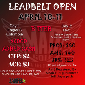 Leadbelt Open, Powered by: Prodigy graphic