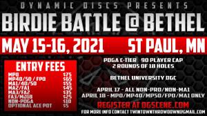 Birdie Battle @ Bethel - NON PRO/NON MA1 graphic
