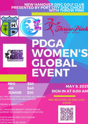 NHDGC Throw Pink WGE Presented by PCDC graphic