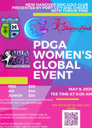 WGE - NHDGC Throw Pink Presented by PCDC graphic