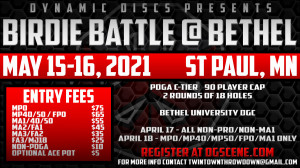 Birdie Battle @ Bethel - All PRO Divisions + MA1 graphic