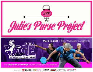 WGE - Julie's Purse Project Charity Event graphic