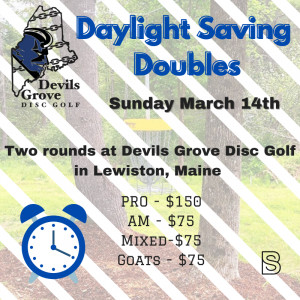 Daylight Saving Doubles graphic