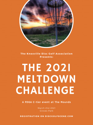 The KDGA Presents: The 2021 Meltdown Challenge Day 2 graphic