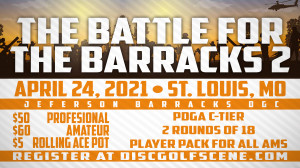 Battle at the Barracks 2-presented by Dynamic Discs graphic