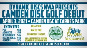 Dynamic Discs Northwest Arkansas Presents: Camden Disc Golf Debut graphic