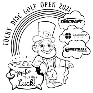 The Lucky Disc Golf Open Presented by Westmark Credit Union graphic