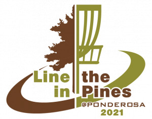 Line in the Pines 2021 & Masters Memorial Tee Sign Sponsorships @ Ponderosa graphic