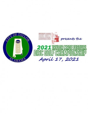 2021 Taylor Made Festival Disc Golf Championship graphic