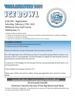 Tallahassee Ice Bowl graphic