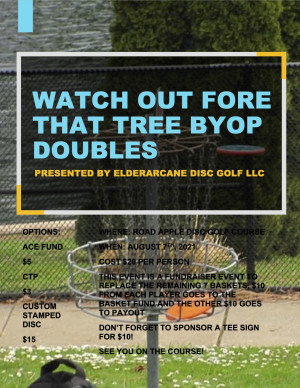 Watch Out Fore That Tree Doubles graphic